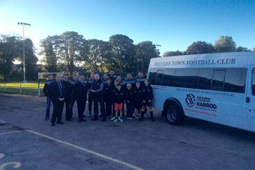 Beccles Town Football Club receives new transport